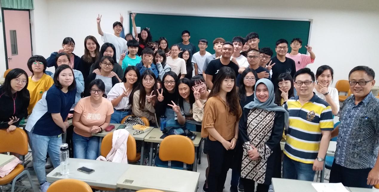 印尼阿楞迦大學國際關係學系Baiq Wardhani教授演講「印尼的地方智慧」